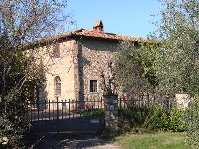 esempio di muratura in bozze di pietra