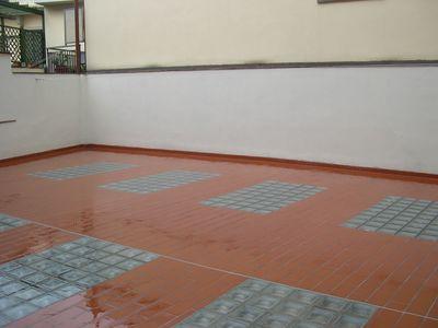 pavimento con lucernario