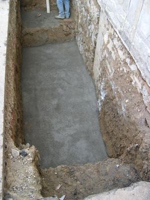 scavo per fossa biologica