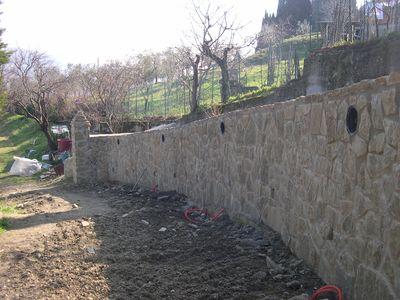 mura di contenimento in pietra